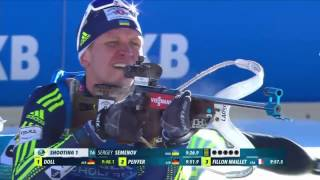 BIATHLON INDIVIDUAL MEN 20.01.2017  World Cup 6 Antholz-Anterselva (Italy)