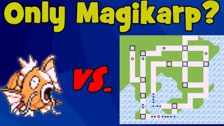 Magikarp  - (Pokémon) - Is it Possible to Beat Pokemon Red/Blue with Just a Magikarp?