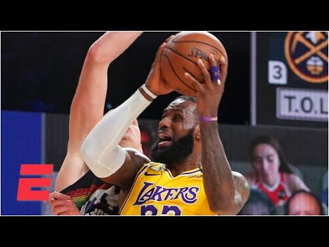 Did LeBron get too many foul calls in the Lakers' Game 4 win? | Keyshawn, JWill & Zubin