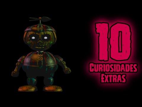 TOP 10: 10 Curiosidades Extras De Phantom Ballon Boy En FNAF 3