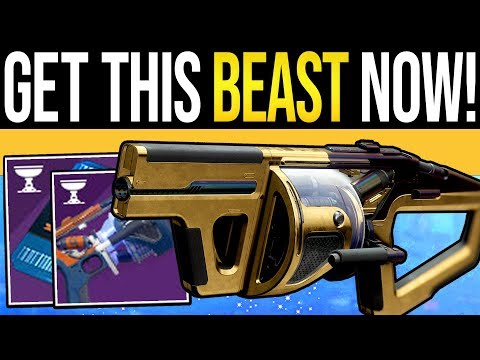Destiny 2 | This Weapon is MONSTROUS & EASY to Get! - Wendigo GL3, Huge Damage & Fast Quest Farm!
