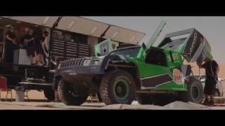 Yazeed Al Rajhi in Hail Rally 2017 - Summary