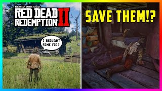 Can You SAVE The Starving Children At Clawson's Rest Cabin In Red Dead Redemption 2? (RDR2 Secrets)