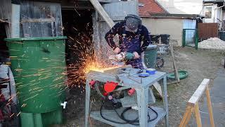 Opas alte Tischkreissäge: Reparatur und Test