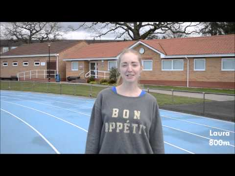 A sporty thank you from Warwick Athletics