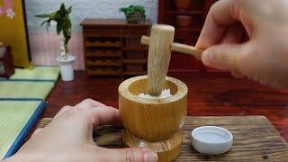 Mini Food Gohei-mochi 食べれるミニチュア 五平餅