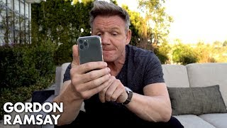 Text Gordon Ramsay For Cooking Advice!