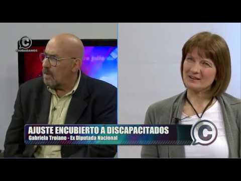 """VIDEO Gabriela Troiano: """"Ajuste encubierto de las pensiones por discapacidad"""""""
