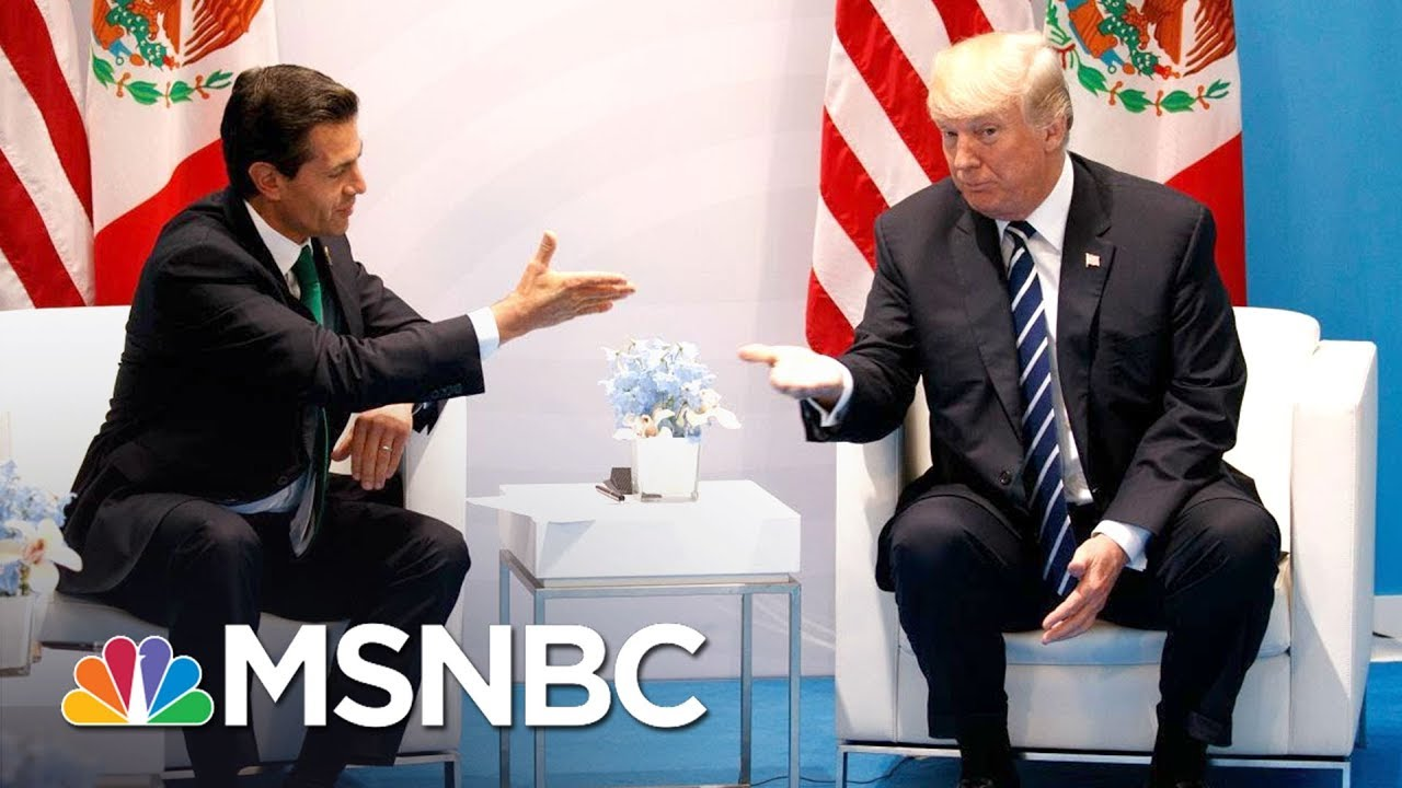 Lawrence: Donald Trump Begged Mexico For Help On The Wall | The Last Word | MSNBC thumbnail