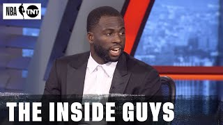 Draymond Green Shares Why Hes Picking LeBron As The MVP | NBA On TNT