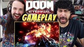 DOOM ETERNAL – Official GAMEPLAY REVEAL - TRAILER REACTION!!!