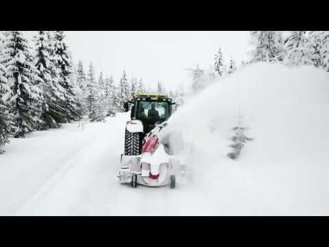 John Deere 6250R 250hk traktor - film på YouTube
