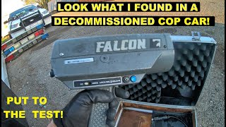 Searching Cop Cars Found a Falcon Gun! Ford Crown Victoria Police Interceptor