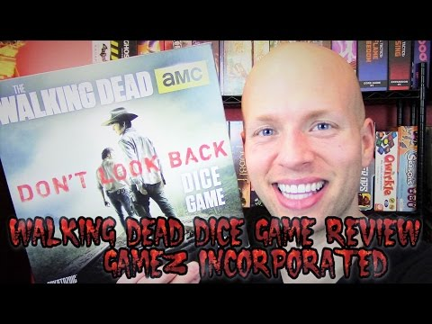Walking Dead Dice Game Review - Gamez Incorporated