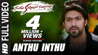 Santhu Straight Forward Songs | Anthu Inthu Full Video Song | Yash, Radhika Pandit | V. Harikrishna