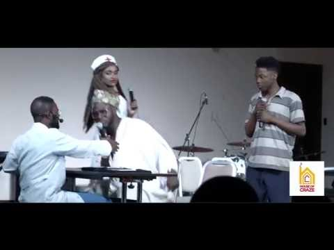 FUNNY STAGE PLAY BY CRAZECLOWN, FALZ THE BAHD GUY AND TEGAA (ADE)