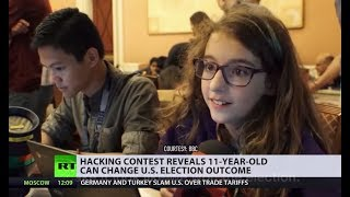 Very secure system... not: 11yo can change US election outcome (and no, she's NOT from Russia)