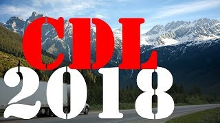 2018 CDL General Knowledge Exam Questions & Answers - 100 Questions & Answers