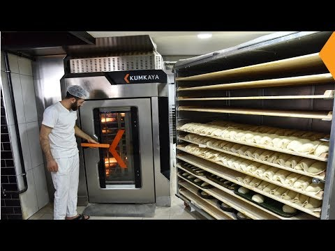 LİDER90 ROTARY RACK OVEN (Bread & Pastry Production)