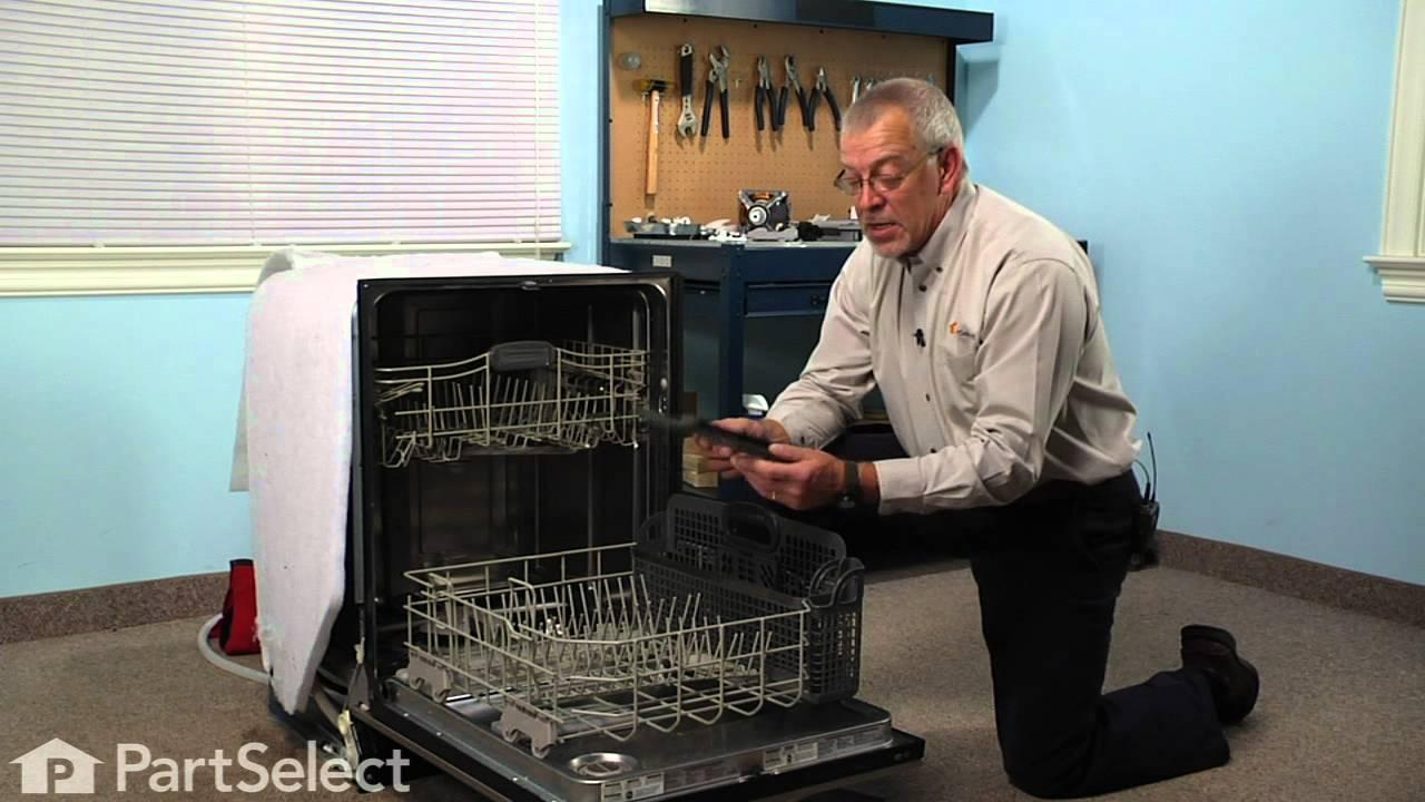 Replacing your KitchenAid Dishwasher Small Items Basket