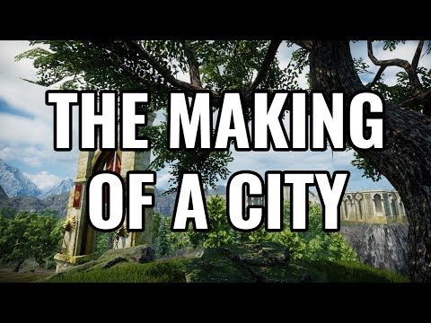 Visionary Realms Shows Off 'The Making of a City'