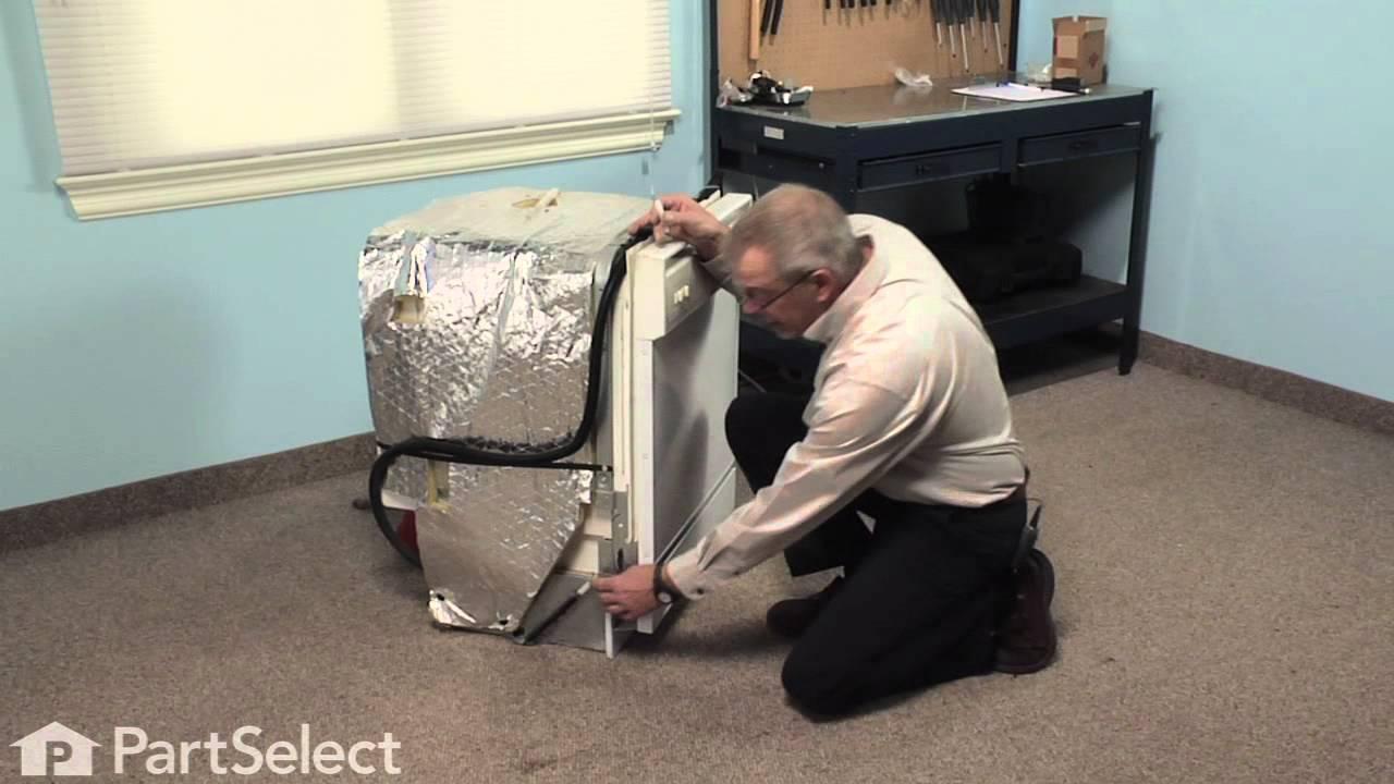 Replacing your Maytag Dishwasher Door Spring Linkage