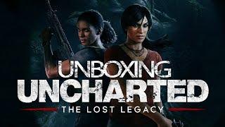 Unboxing | Uncharted: El legado perdido | Press Kit