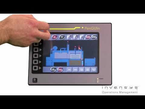 The PenGUIn Machine HMI from Eurotherm. One example of Eurotherm's innovative products now available from ECEFast. (Courtesy: Invensys Eurotherm)