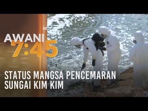 Status mangsa pencemaran Sungai Kim Kim