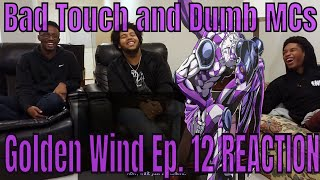 JJBA Golden Wind Ep. 12 REACTION | Man In The Mirror!