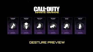 Got something to say Express yourself with these Legendary Gestures in InfiniteWarfare