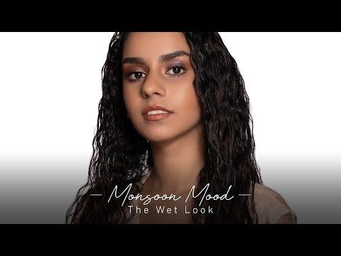 Monsoon Mood | The Wet Makeup Look | Kim Kardashian Inspired