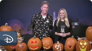 DIY Halloween: Pumpkin Carving | Walt Disney World