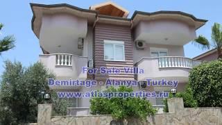 For Sale Villa in Demirtage, Alanya - Antalya - Turkey