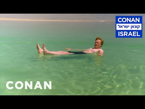 Conan v Izraeli #9: Mrtvé moře a výcvik se ženami