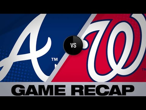Rendon, Robles lead Nationals to a 5-4 win | Braves-Nationals Game Highlights 6/21/19