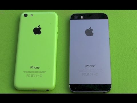 IPhone 5s Vs IPhone 5c - Apple Smartphone Vergleich Mp3