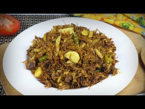 Dry meat Bhuna
