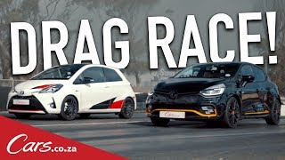 DragRace-ToyotaYarisGRMNvsRenaultClioRS18