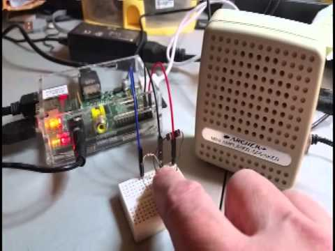 Build A Little Text-to-Speech Machine With A Raspberry Pi