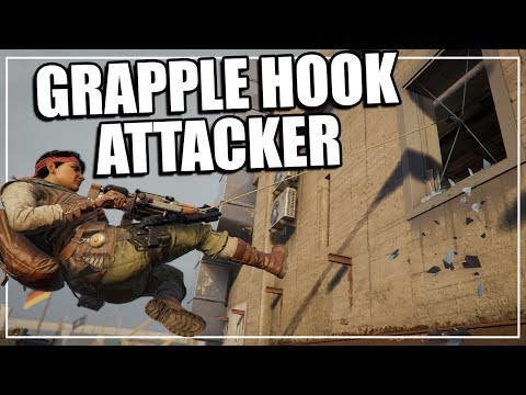 EARLY Amaru Gameplay, NEW Grapple Hook! - Rainbow Six Siege Operation Ember Rise