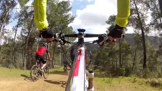 preview picture of video 'Xyliatos Dam Bike Ride'