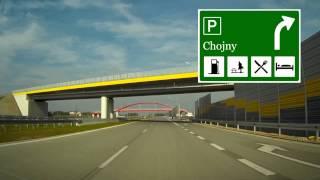 preview picture of video 'Droga Ekspresowa / Expressway S8 Wieluń - Sieradz'