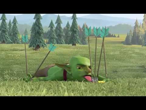 clash of clans 3d animation tvc