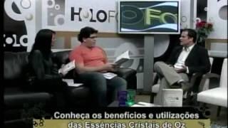 Entrevista no programa Holofote