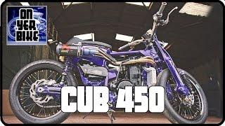 A Honda C90 on Steroids! The Cub 450 | Choppy Cub 450 | xe ôm