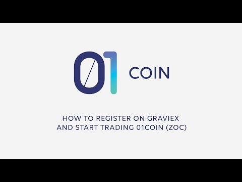 How to Register on Graviex and Start Trading 01coin