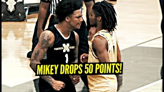Mikey Williams Drops 50 POINTS in HEATED MATCH-UP!! Mikey Talks His Trash & BACKS IT UP!!