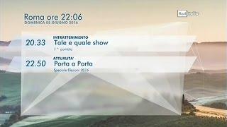 RAI Italia   Bumper + orari (2016).