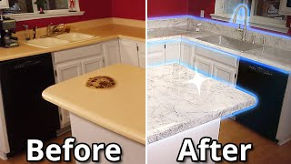 How To Install Epoxy Over Old Countertops Ultimate Guide   Stone Coat Countertops
